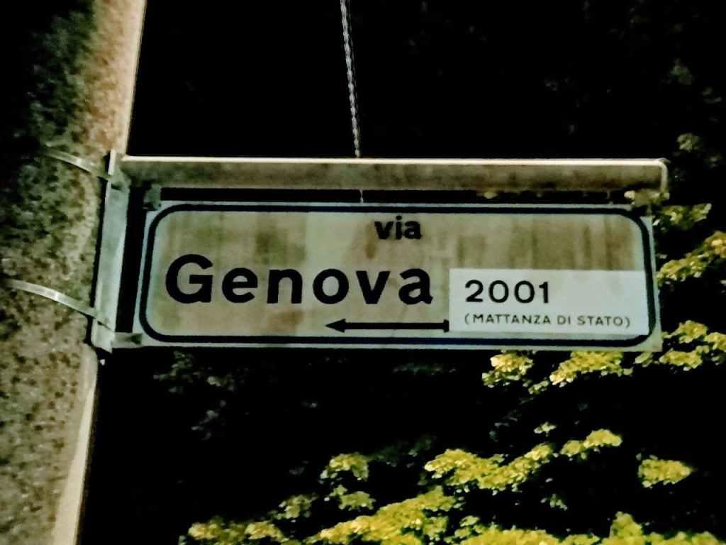 via Genova 2001 (Mattanza di Stato) Carpi